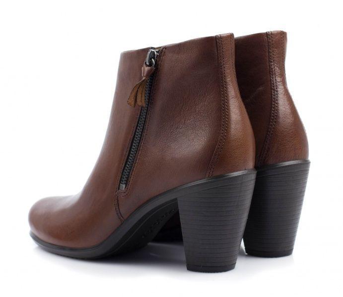 Ботинки женские ECCO TOUCH 75B ZW5109 размерная сетка обуви, 2017