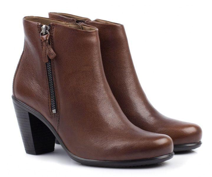 жіночі черевики ecco touch 75b 263503(02195) шкіряні