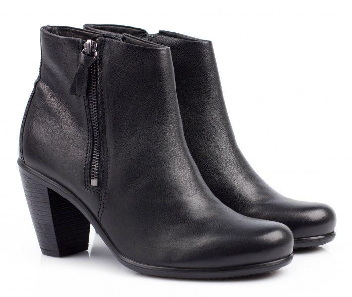 жіночі черевики ecco touch 75b 263503(12001) шкіряні