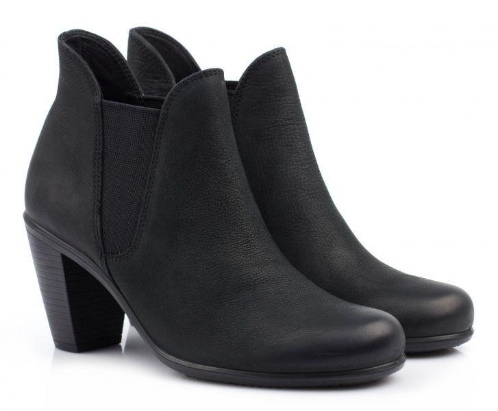 жіночі черевики ecco touch 75b 263513(02001) нубукові