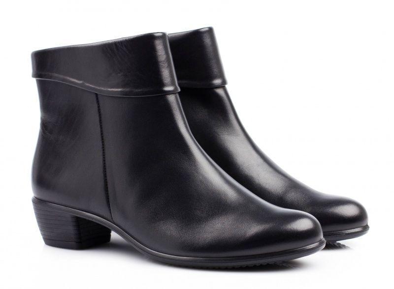 жіночі черевики ecco touch 35 b 264063(01001) шкіряні