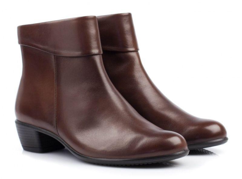 жіночі черевики ecco touch 35 b 264063(01014) шкіряні