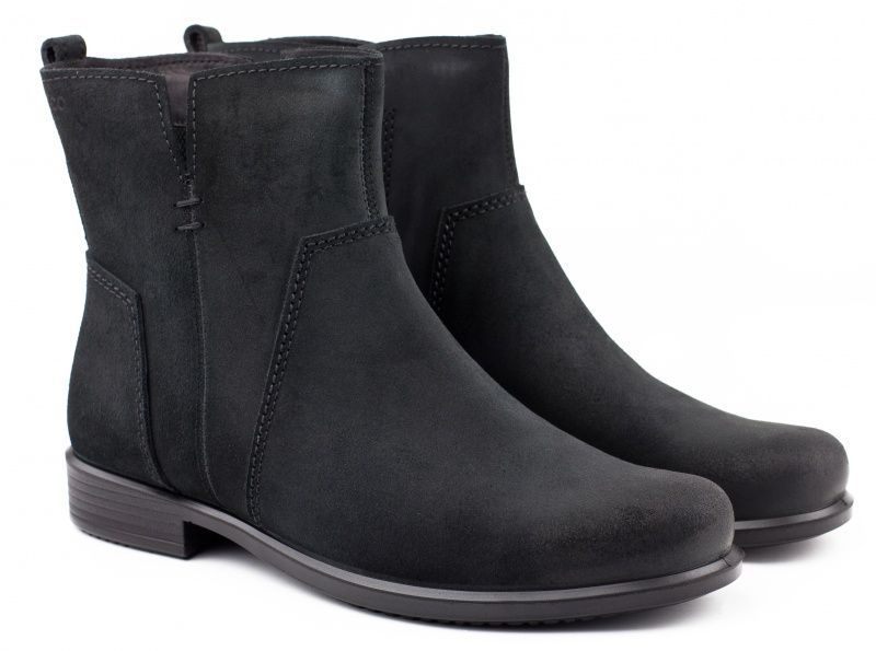 жіночі черевики ecco touch 25 b 264503(05001) замшеві