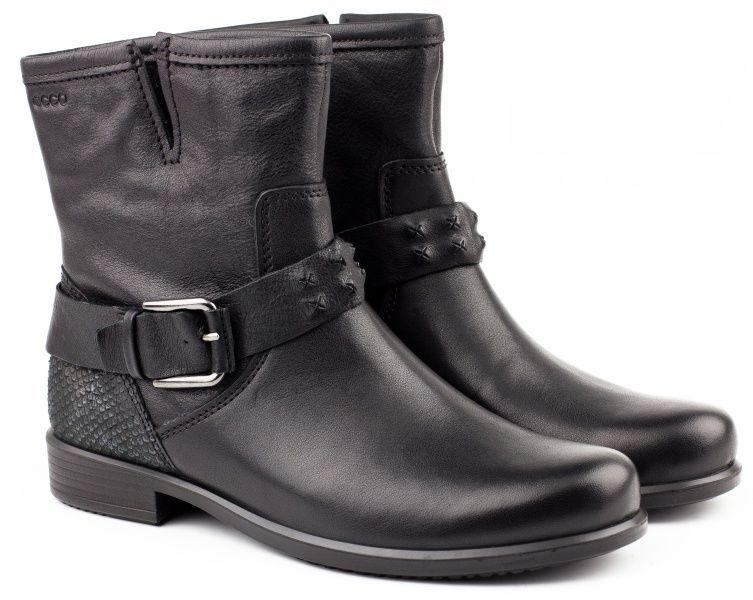 жіночі черевики ecco touch 25 b ZW5124 нубукові