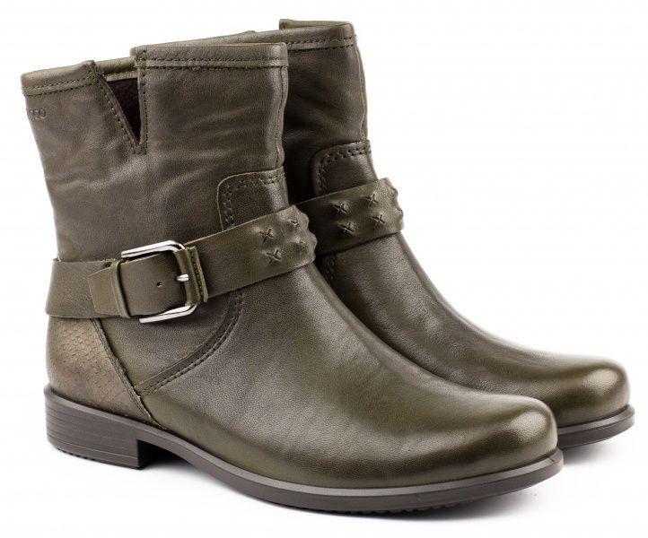 жіночі черевики ecco touch 25 b 264523(55894) нубукові