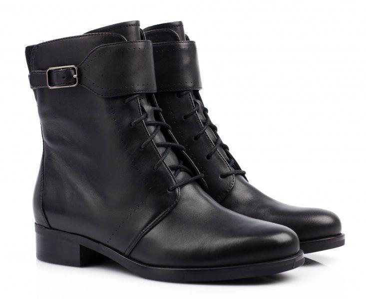 жіночі черевики ecco adel 359713(01001) шкіряні