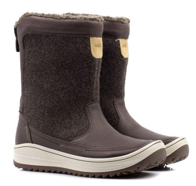 жіночі черевики ecco trace 834013(54639) шкіряні/текстильні