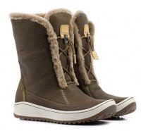 женская обувь ECCO коричневого цвета, фото, intertop