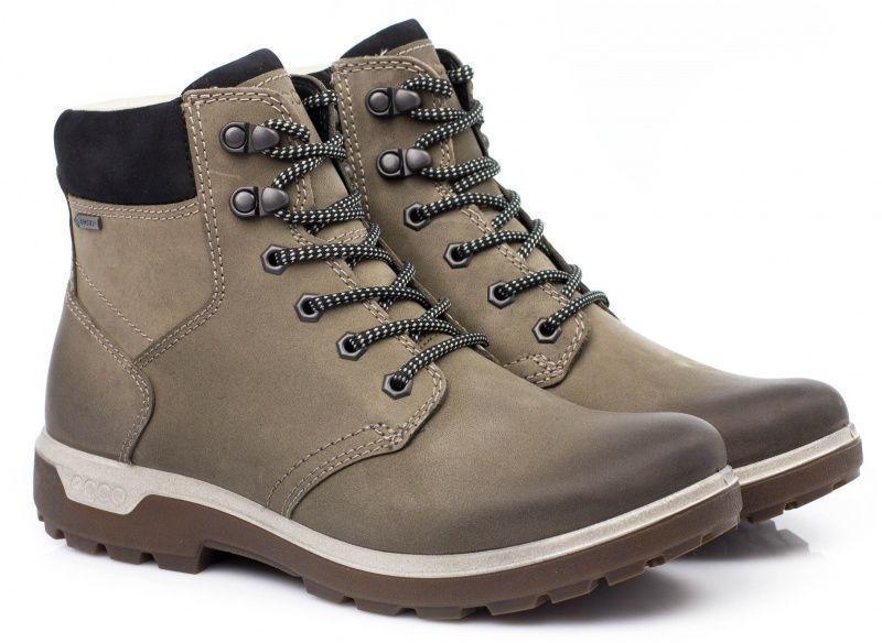 жіночі черевики ecco gora 837013(51005) нубукові