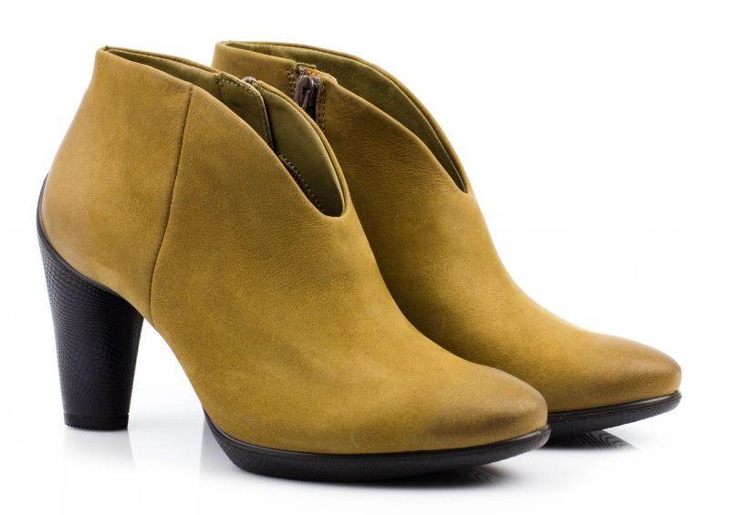 жіночі черевики ecco sculptured 75 242753(02034) нубукові