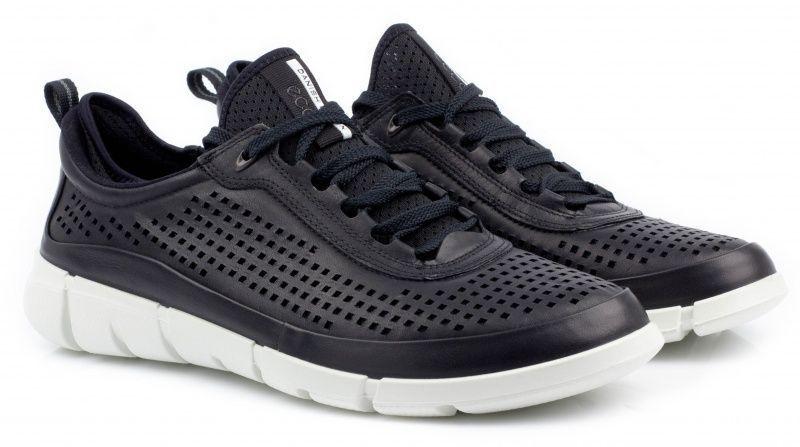 жіночі кросівки ecco intrinsic 860013(01001) шкіряні/текстильні