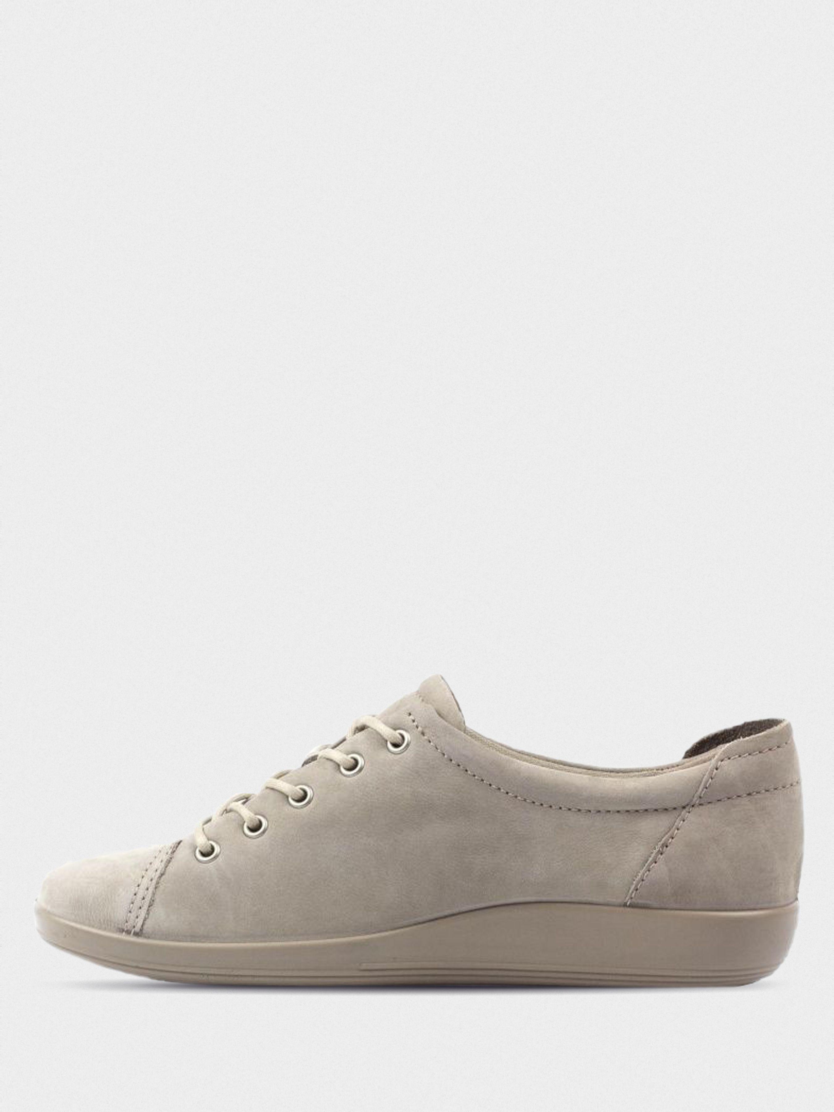 Полуботинки женские ECCO SOFT 2.0 ZW5170 брендовая обувь, 2017