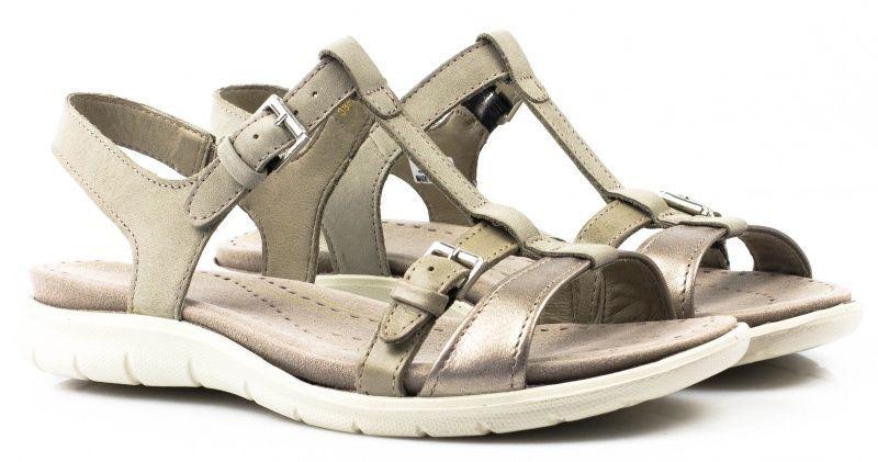жіночі сандалі ecco babett sandal 214003(55296) нубукові