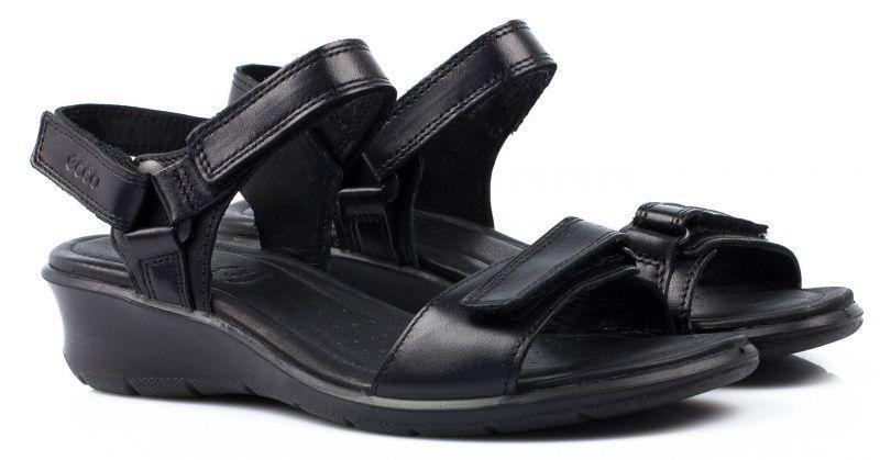 жіночі сандалі ecco felicia sandal 216553(01001) шкіряні