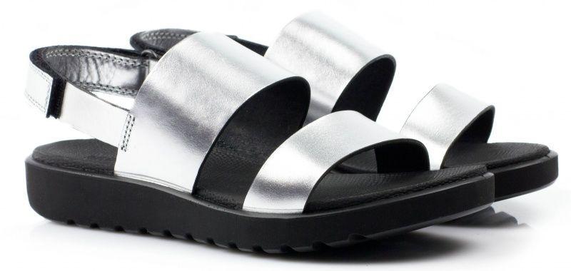 жіночі сандалі ecco freja sandal silver ZW5224 шкіряні
