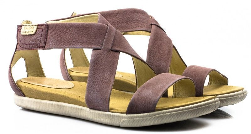 жіночі сандалі ecco damara sandal 248153(02341) нубукові