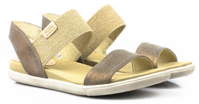 жіночі сандалі ecco damara sandal 248183(05375) замшеві