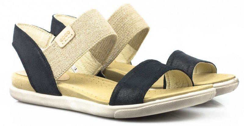 жіночі сандалі ecco damara sandal 248183(05001) замшеві