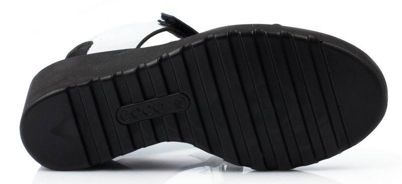 жіночі босоніжки ecco freja wedge sandal 249603(02097) шкіряні фото 2