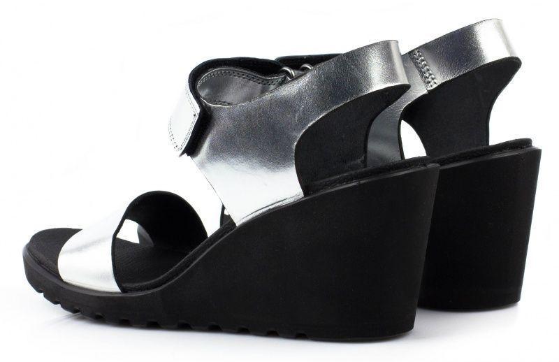жіночі босоніжки ecco freja wedge sandal 249603(02097) шкіряні фото 3