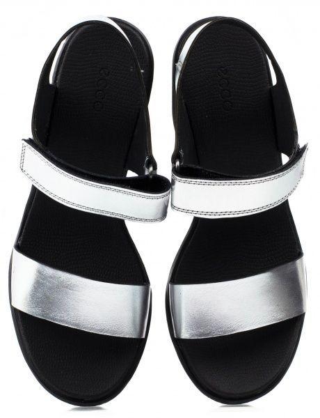 жіночі босоніжки ecco freja wedge sandal 249603(02097) шкіряні фото 4