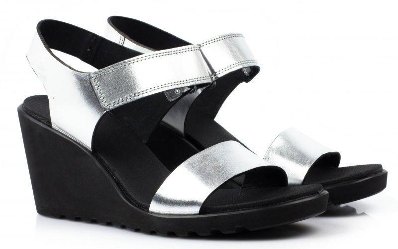 жіночі босоніжки ecco freja wedge sandal 249603(02097) шкіряні