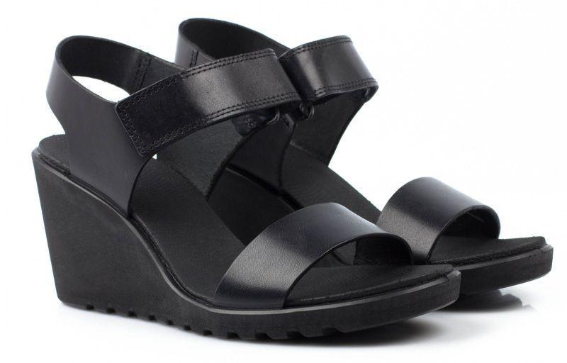 жіночі босоніжки ecco freja wedge sandal 249603(02001) шкіряні