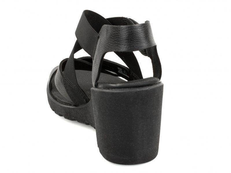 жіночі босоніжки ecco freja wedge sandal 249623(01001) шкіряні фото 1