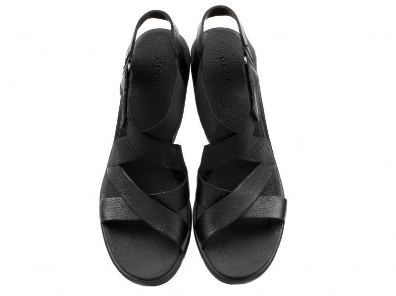 жіночі босоніжки ecco freja wedge sandal 249623(01001) шкіряні фото 4