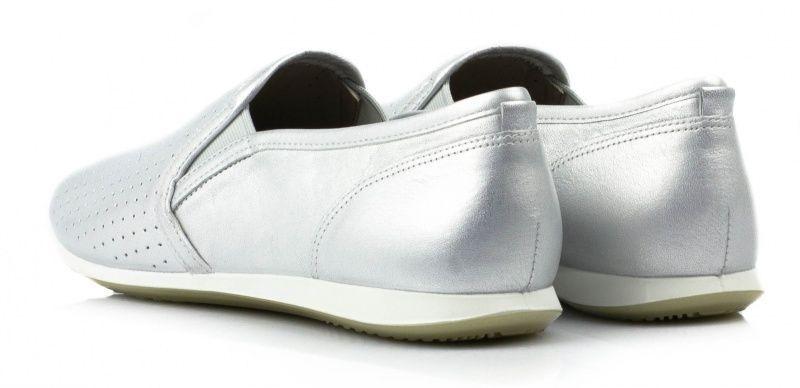 жіночі cліпони ecco touch sneaker 265063(01097) шкіряні фото 3
