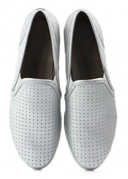 жіночі cліпони ecco touch sneaker 265063(01097) шкіряні фото 4