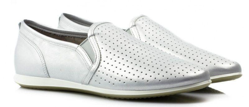 жіночі cліпони ecco touch sneaker 265063(01097) шкіряні