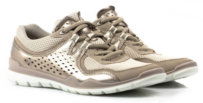 жіночі кросівки ecco lynx 830423(59776) шкіряні/текстильні