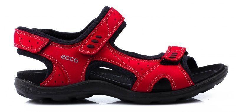жіночі сандалі ecco kana 834103(02466) нубукові