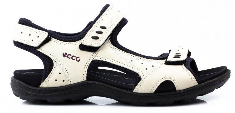 жіночі сандалі ecco kana 834103(02152) нубукові