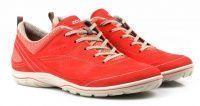женская обувь ECCO красного цвета, фото, intertop