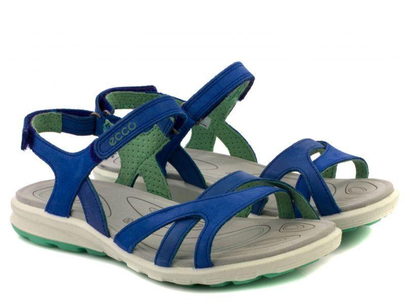 жіночі сандалі ecco cruise 841603(59505) шкіряні