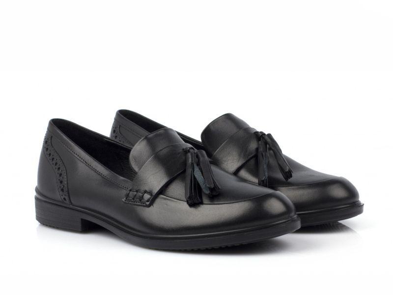 жіночі туфлі ecco touch 15 b 261773(01001) шкіряні