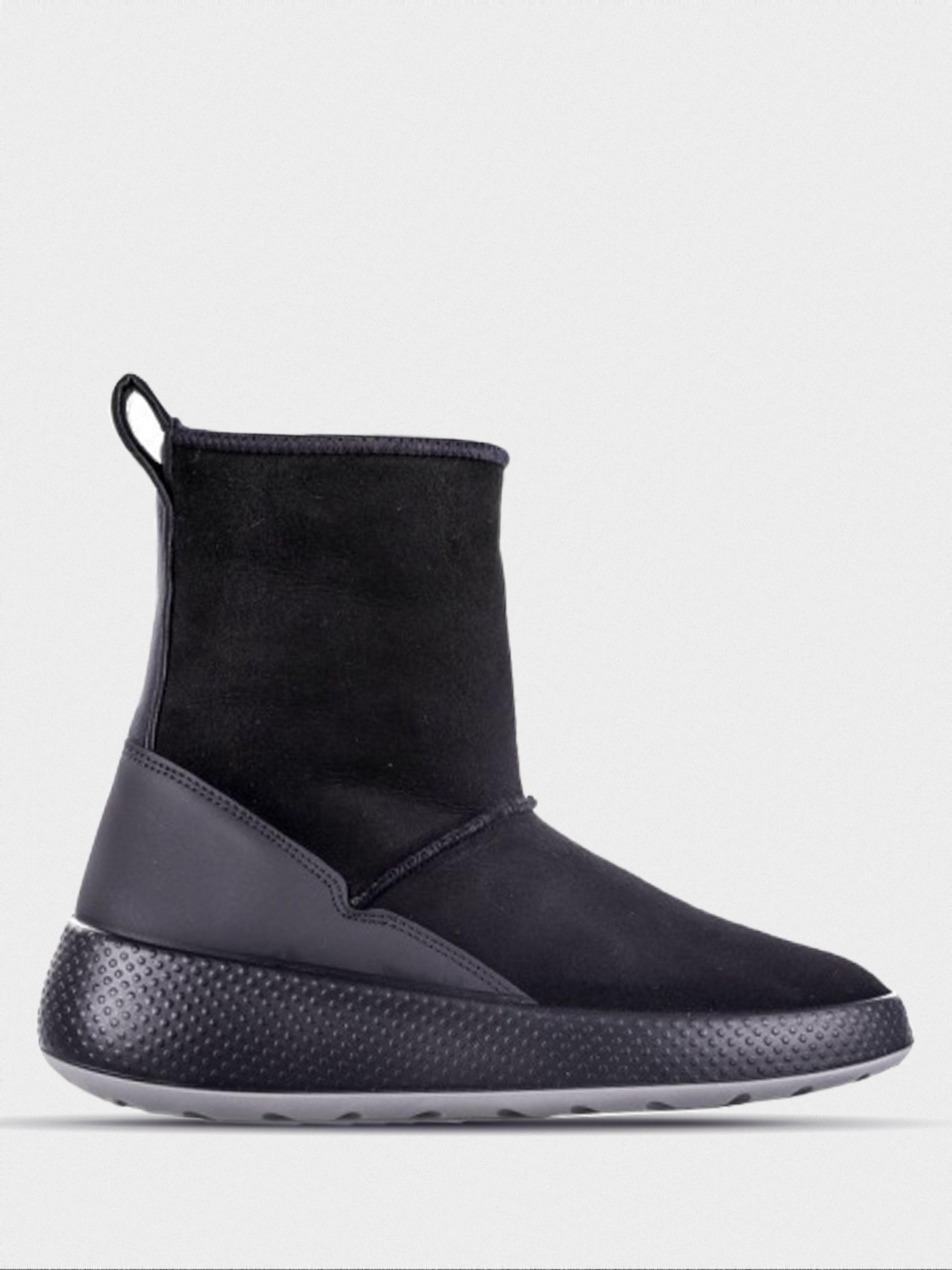 жіночі чоботи ecco ukiuk 221003(51052) замшеві