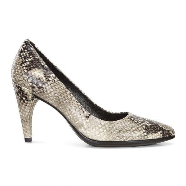 жіночі туфлі ecco shape 75 269503(01004) шкіряні