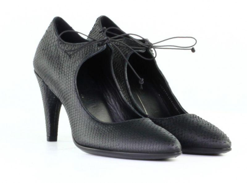 жіночі туфлі ecco shape 75 269513(01001) шкіряні