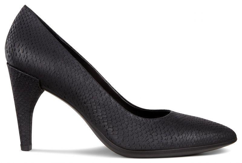 жіночі туфлі ecco shape 75 269663(01001) шкіряні
