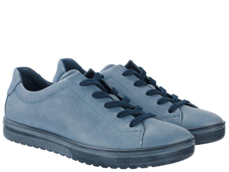 Купить Полуботинки женские ECCO FARA ZW5529, Синий