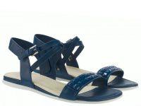 женская обувь ECCO синего цвета приобрести, 2017