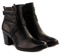 Женские ботинки черные качество, 2017