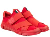 женская обувь ECCO красного цвета качество, 2017