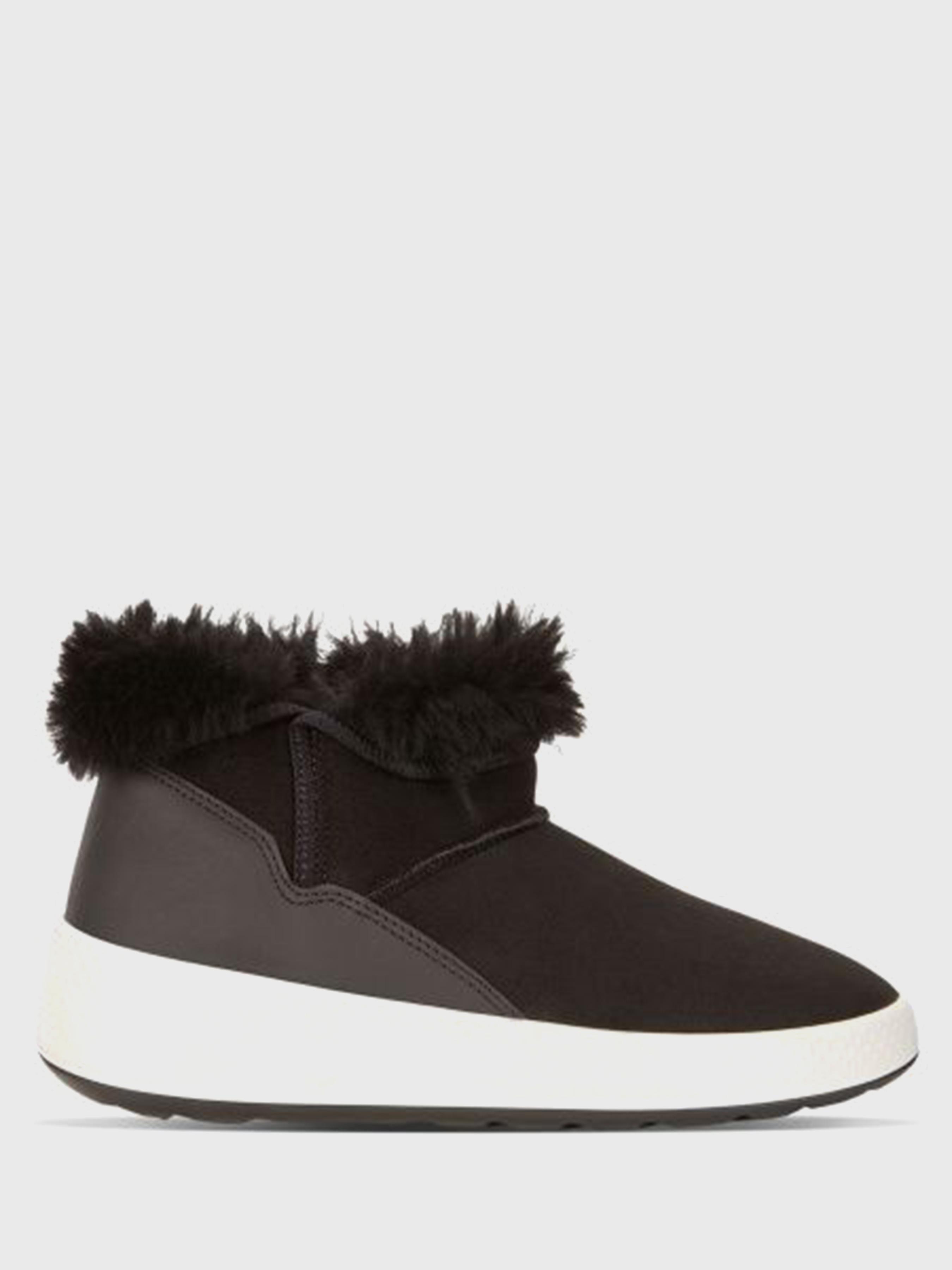 жіночі черевики ecco ukiuk 221013(51707) шкіряні