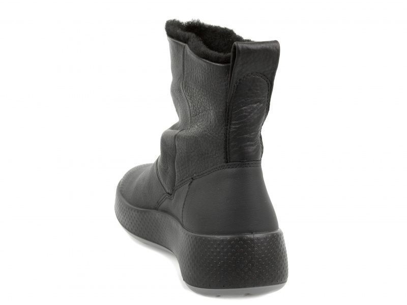 жіночі чоботи ecco ukiuk 221043(02001) нубукові фото 1