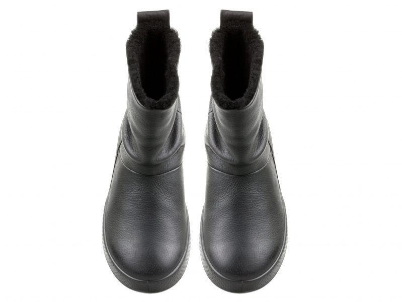 жіночі чоботи ecco ukiuk 221043(02001) нубукові фото 4