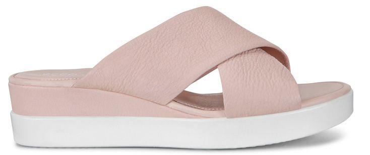 Шлёпанцы для женщин ECCO TOUCH SANDAL PLATEAU ZW5910 цена обуви, 2017